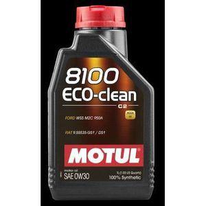 HUILE MOTEUR MOTUL Huile  8100 ECO-CLEAN C2 0W30 1L (bidon)