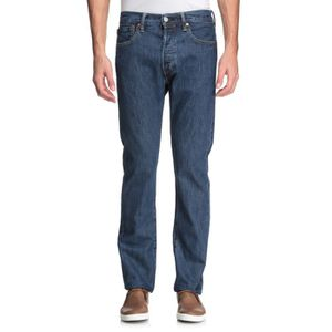 JEANS LEVI'S Jeans Homme 501 - Regular - Bleu
