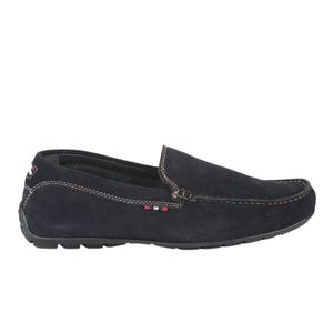 MOCASSIN Mocassins homme - FIRST COLLECTIVE - Bleu marine -