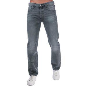 JEANS Levis Jean 501 Original Fit Gris Homme