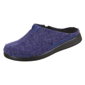 Romika Pantoufles Chaussons Mokasso 62 Violet Combi feutrine 61042 nouveau