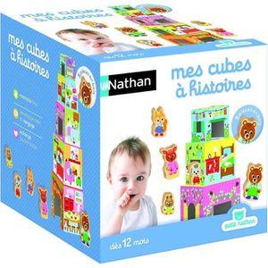 CUBE ÉVEIL PETIT NATHAN - Mes cubes à Histoires