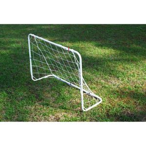 MINI-CAGE DE FOOTBALL Mini but de foot en acier 1,2 x 0,8 m