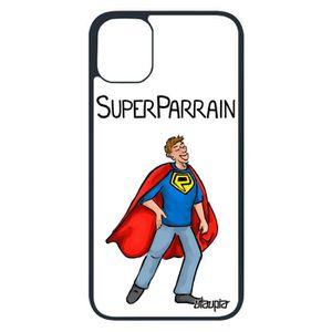 FILM PROTECT. TÉLÉPHONE Coque Apple iPhone 11 pro silicone super parrain 2