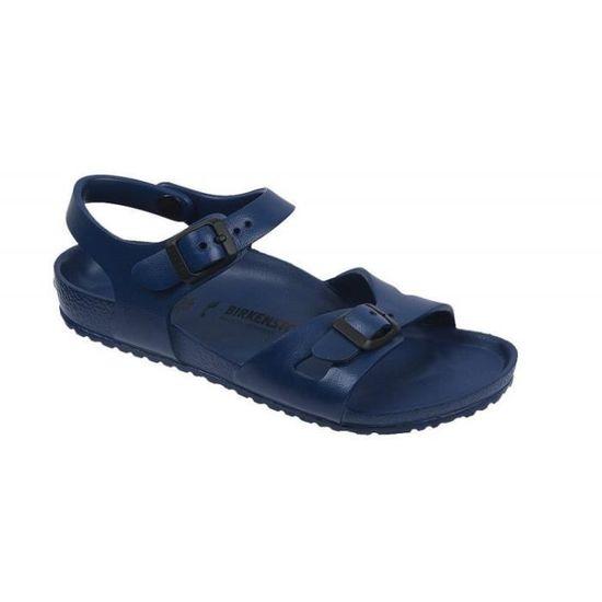 Sandales Birkenstock Rio EVA Bleu Marine Enfants Taille 31