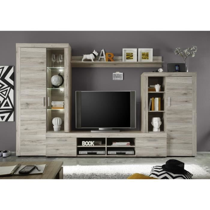 meuble tv mural achat vente meuble tv mural pas cher. Black Bedroom Furniture Sets. Home Design Ideas