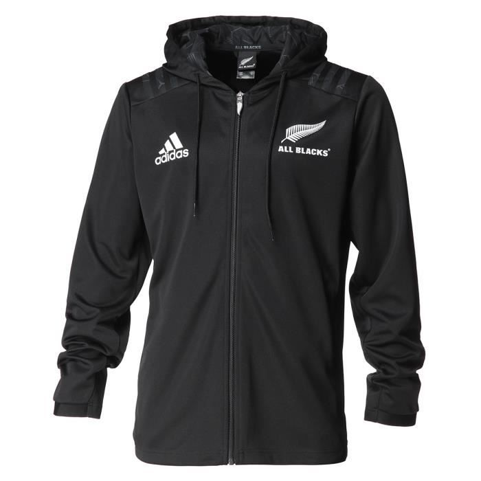 ADIDAS Sweatshirt All Blacks - Mixte - Noir