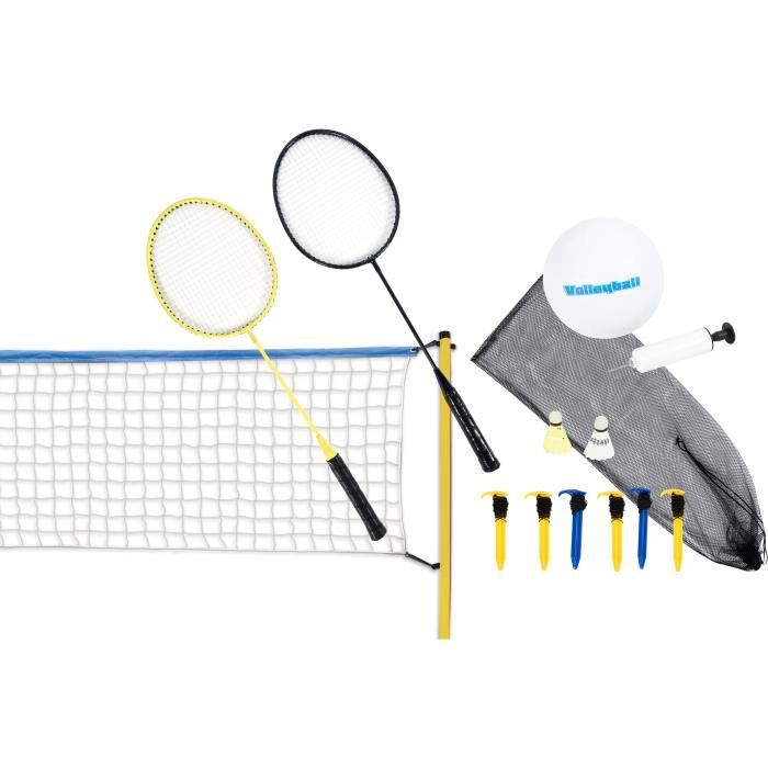 Kit de volleyball et de badminton