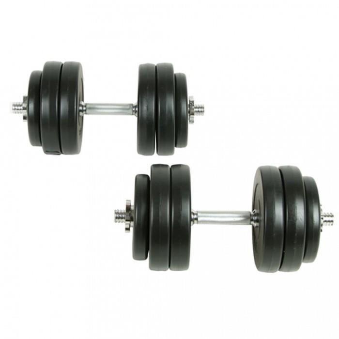 ICAVERNE serie Poids libres Style Kit halteres 30 kg
