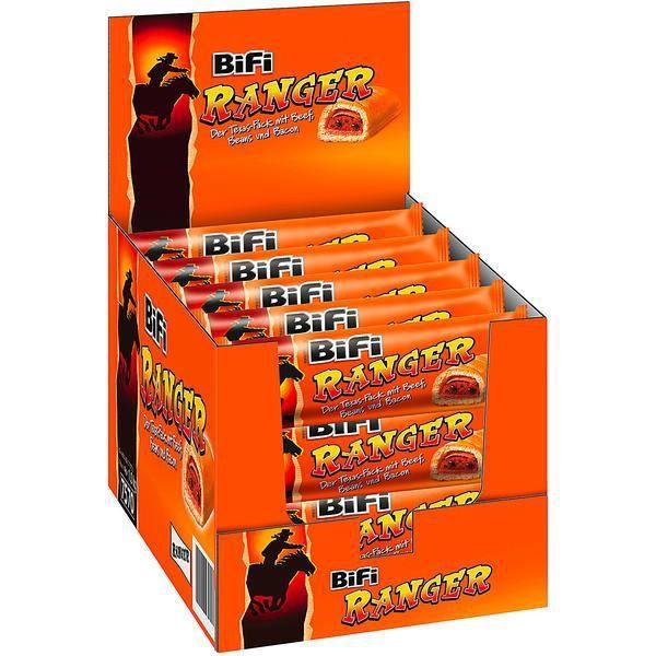 Bifi Ranger Saucisse Snack Haricots Beef Bacon 20 x 50g