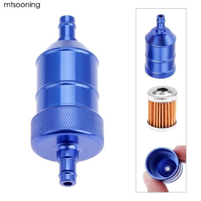 nettoyeur de filtre à huile universel pour essence et carburant, 8mm, bleu, pour moto, Pit, Dirt Bike, ATV, Quad, haute [090C335]