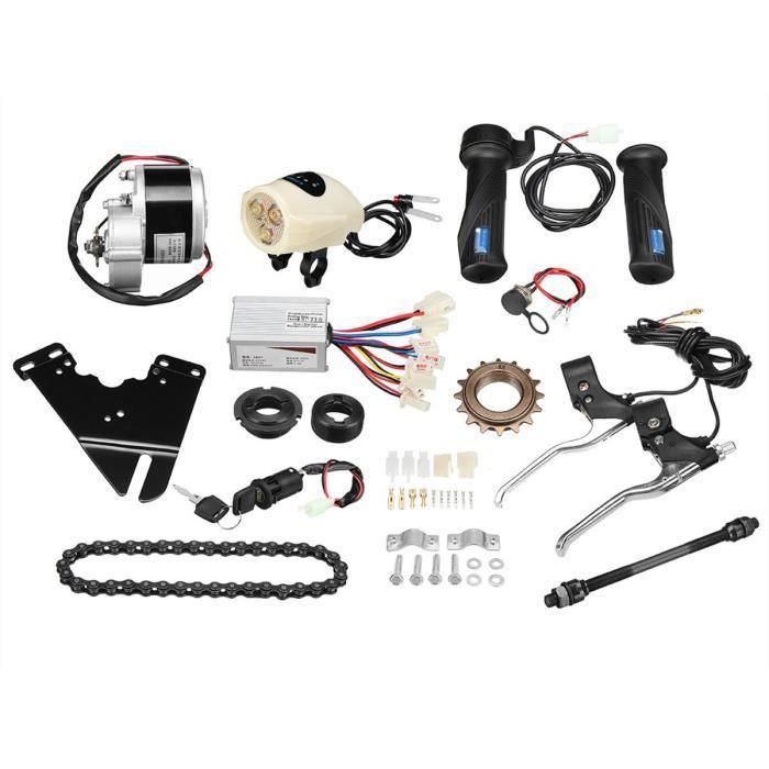 Kit de conversion de vélo électrique de kit de contrôleur de moteur électrique pour vélo électrique 24v 250w