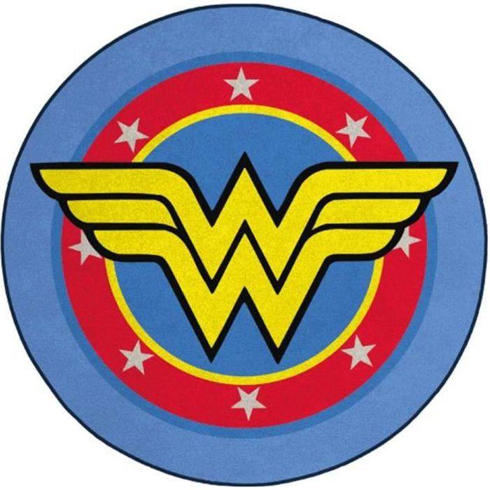 Tapis de sol Wonder Woman DC Comics - Wonder Woman Logo