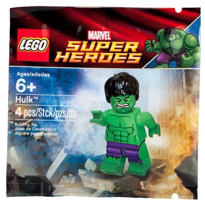 LEGO Marvel Super Hero Polybag Hulk limited edition 6001095
