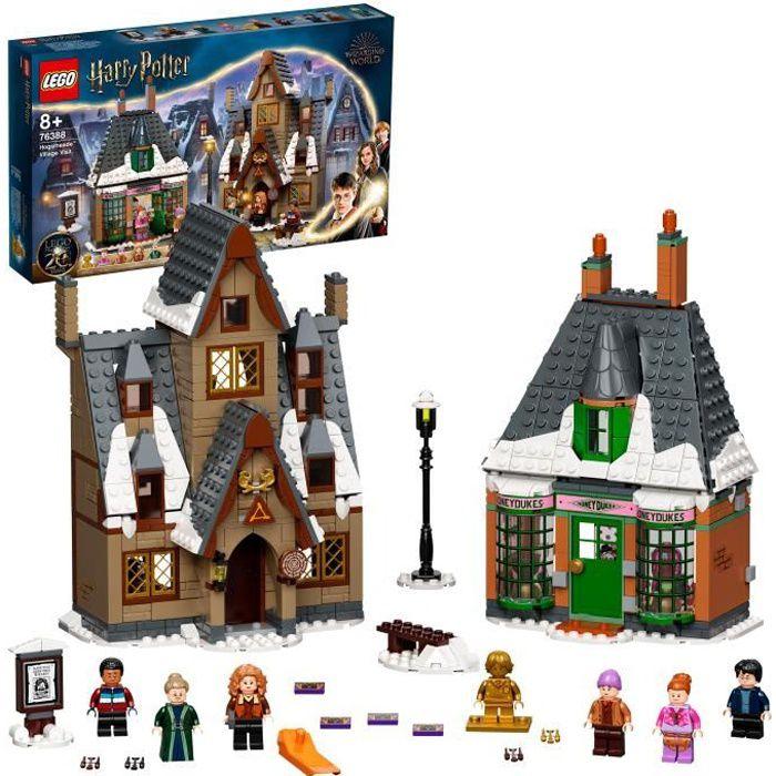 LEGO® 76388 Harry Potter™ Visite du village de Pré-au-Lard Edition 20ème Anniversaire avec Figurine de Collection dorée