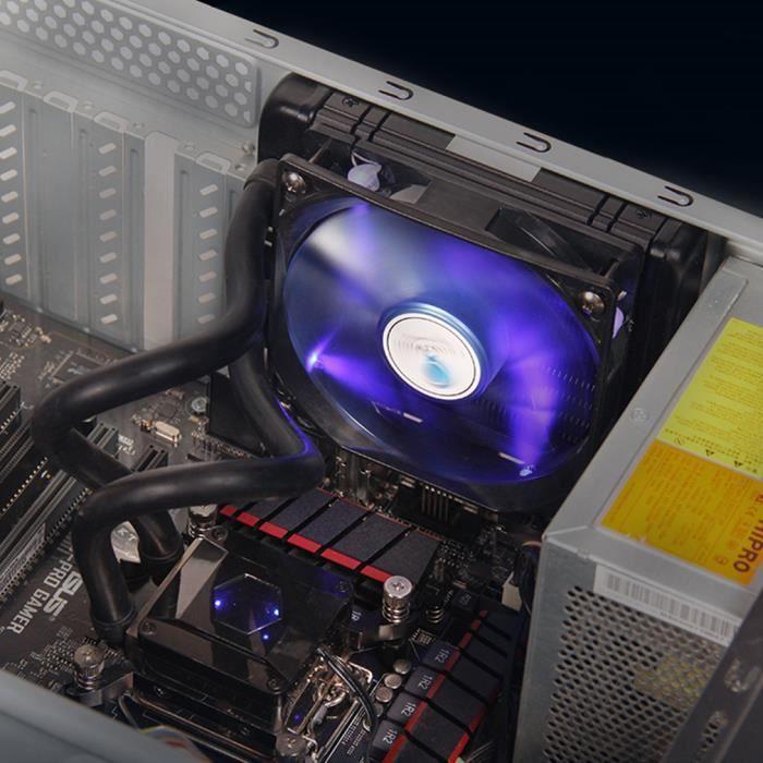 Ventilateur Boitier Refroidisseur pour Cpu Roulement à Fluide Dynamique 90,5 Pcm 1000 2200Rpm