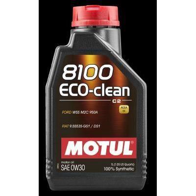 MOTUL Huile 8100 ECO-CLEAN C2 0W30 1L (bidon) - Huile auto
