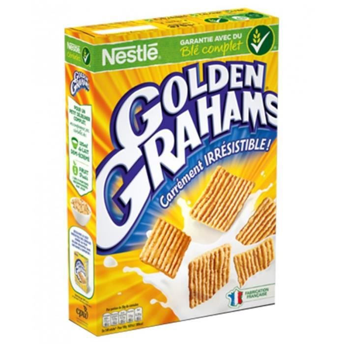 Nestlé Golden Grahams Carrément Irrésistible 375g (lot de 4)