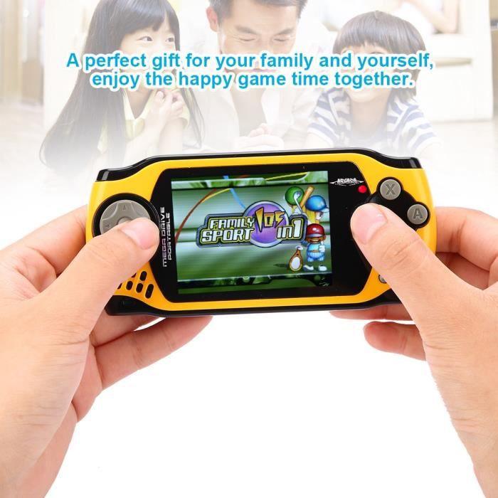 JEU PSP 32 bits de 2,5 pouces écran couleur portable conso
