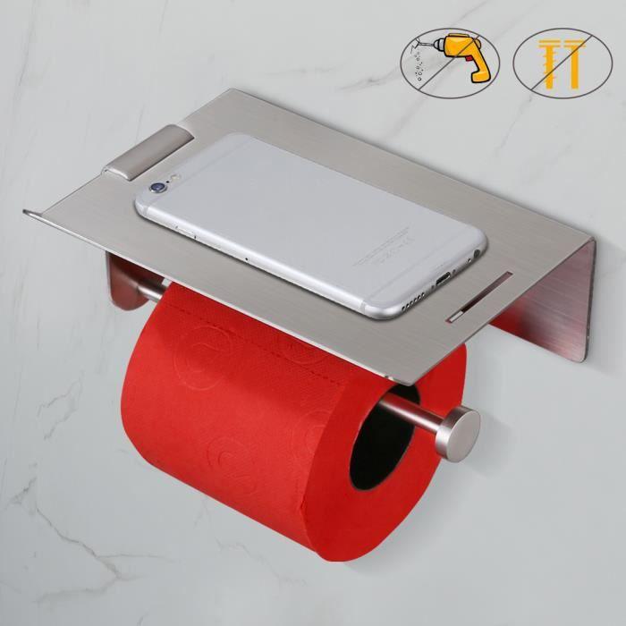 Papier toilette Tissue Holder blanc en céramique émaillée avec rouleau bain accessoire mur