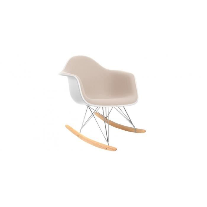 Chaise eames rar awesome rar rocking chair eames offwhite for Eames chaise bascule