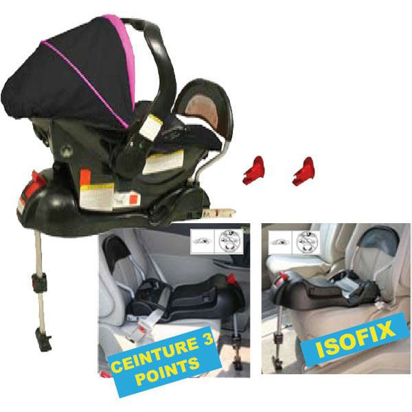 looping base isofix noir achat vente embase si ge. Black Bedroom Furniture Sets. Home Design Ideas
