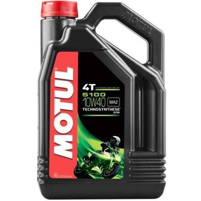 motul 5100 4t 10w40 ester 4l huile moto achat vente. Black Bedroom Furniture Sets. Home Design Ideas