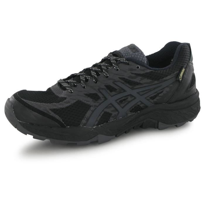 chaussure asics noir femme