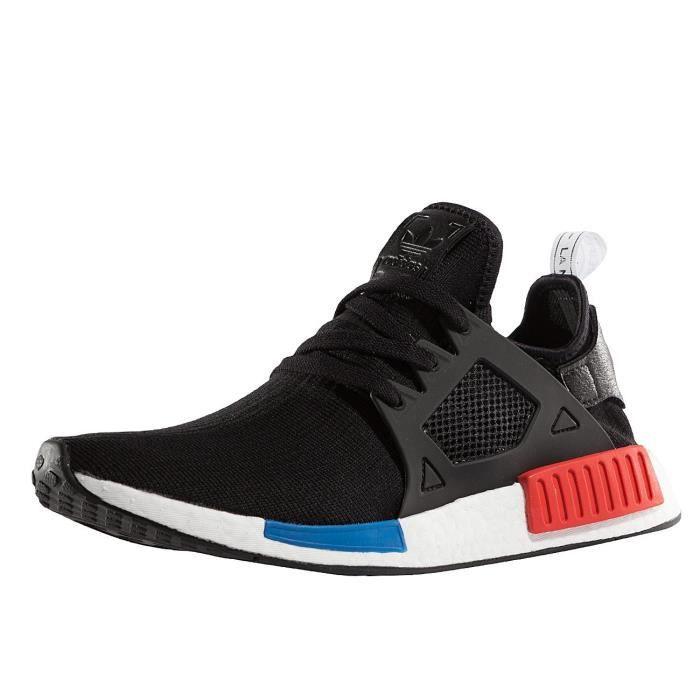 Adidas Homme Chaussures Baskets NMD XR1 Primeknit Noir