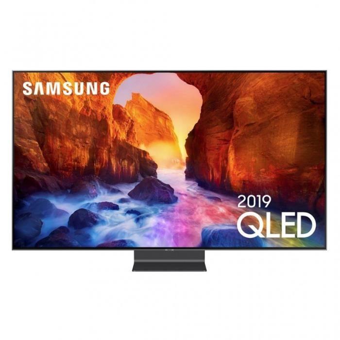 """Téléviseur LED Samsung TV QLED 4K Ultra HD 55"""" 138cm QE55Q90R"""