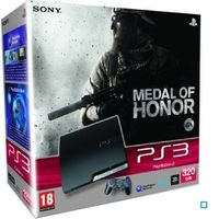 CONSOLE PS3 PACK PS3 320 GO NOIRE + MEDAL OF HONOR.