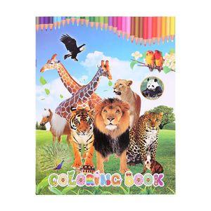 JEU D'APPRENTISSAGE Livre d'apprentissage du livre de coloriage d'anim