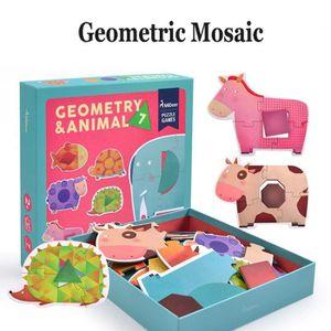 PUZZLE Puzzle Enfants Papier puzzle en Animaux de la ferm