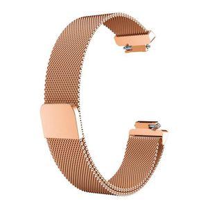 BRACELET DE MONTRE Milanese Montre en acier inoxydable bande Bracelet
