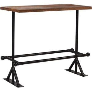 MANGE-DEBOUT Table haute mange debout bar bistrot bois de récup