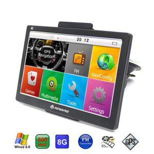 RADAR DE RECUL Navigateur de navigation GPS HD 7 '' FM FM WinCE 6