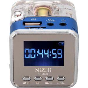 ENCEINTE NOMADE Musique Portable numérique Mini lecteur MP3/4 Micr