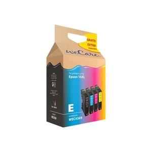 CARTOUCHE IMPRIMANTE Wecare WEC4369 Pack de 5 noir, jaune, cyan, magent