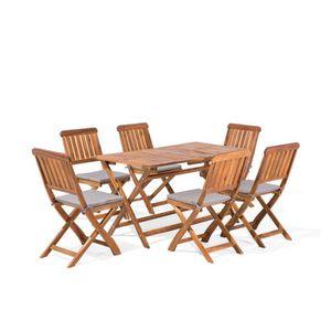 Salon bas de jardin bois - Achat / Vente Salon bas de jardin ...