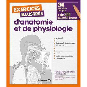 LIVRE MÉDECINE Livre - exercices illustrés d'anatomie et de physi