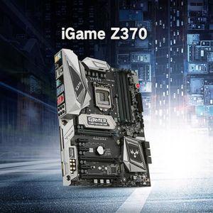 CARTE MÈRE Carte mère Colorful d'iGame Vulcan X d'Intel Z370