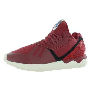 adidas tubular runner rouge