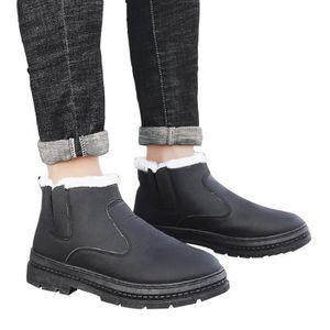 homme en d'hiver fourrées Bottes chaussures coton rembourré nm80wN