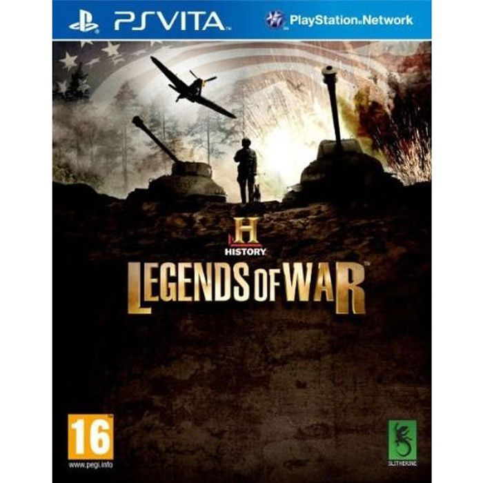Legend Of War Jeu PS Vita