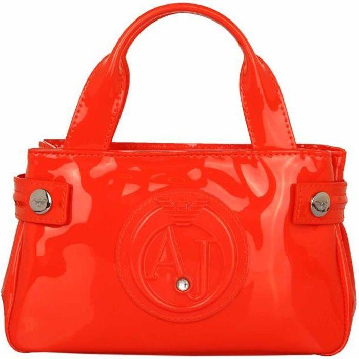 Armani Jeans Femmes Tote & Shopper Rosso Arancio 0529D55-L4