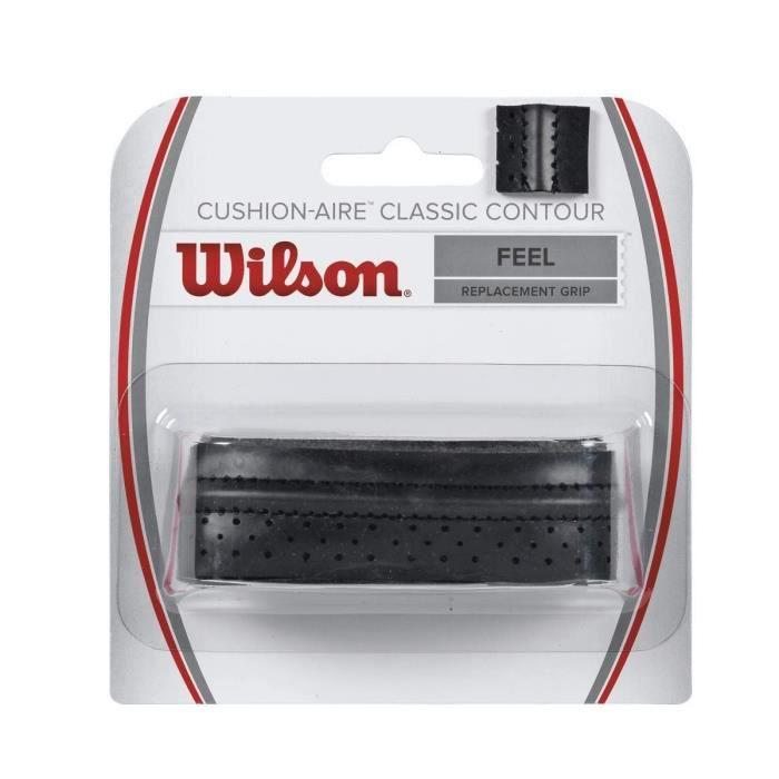 Wilson Sporting Goods Co. WRZ4203BK, Surgrip, Tennis, Noir, Image, 30 mm, 120 cm