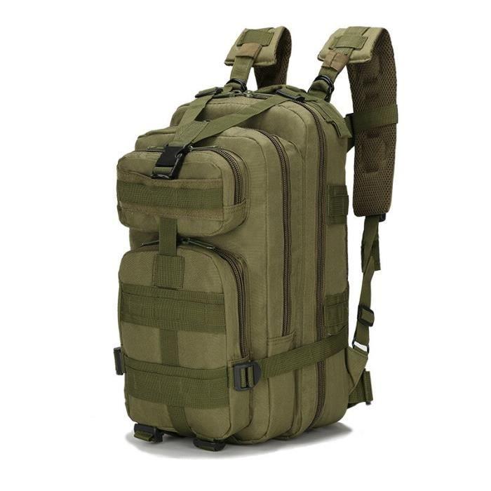 Sac à dos tactique militaire de l'armée 3P 20-30l, sac d'extérieur étanche pour hommes, sac à dos pour randonnée [E832856]