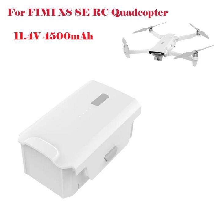 Batterie Lipo 11.4V 4500mAh pour pièces détachées Quadricoptère RC FIMI X8 SE Yuanliae1243
