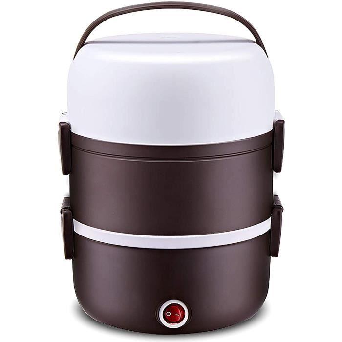 CUISEUR A RIZ YYA Cuiseur Agrave Riz 2L250W220V Intelligent Steamer Isolant Boicircte agrave Lunch cuit agrave la Vapeur Mini Me229