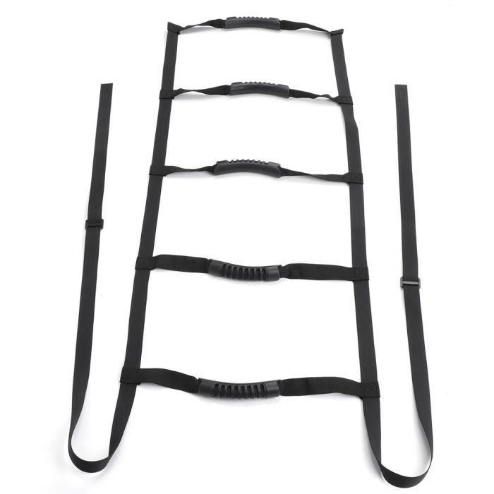 YOSOO Corde d'assistance pour échelle de lit Corde d'aide d'échelle de lit réglable appareil d'aide à la position assise pour